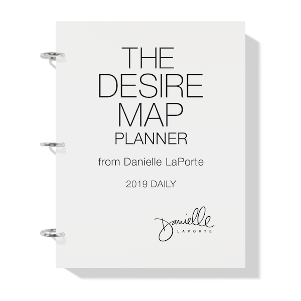 new printable planner from Danielle Laporte for 2019